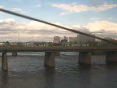 Trenton Makes Bridge (jessespector) Tags: world new bridge window river jersey makes takes trenton
