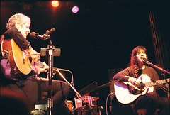 Tish Hinojosa w/ Joan Baez by neatnessdotcom, on Flickr