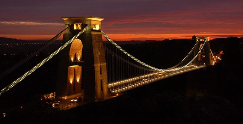 Clifton Suspension Bridge. Phot by Joe Dunckley on Flickr