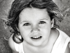 :) (Bene Maldonado) Tags: girls portrait blackandwhite bw sunlight white black cute eye art girl beautiful face kids children daylight kid eyes 500v20f dof child bokeh retrato sony 123 321 100v10f pb h1 bene dsch1 100vistas thecontinuum 2for2 mywinners abigfave totalexposure