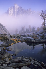 Enchanted (velvia rules!) Tags: morning light mist mountain lake reflection nature fog wow landscape washington topf50 topv333 bravo fv5 fv10 enchantments topvaa magicdonkey specland 3000v120f abigfave p1f1 superaplus aplusphoto travelerphotos megashot fiveflickrfavs
