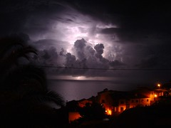 Thunder above Madeira waters - Madeira Portugal (Madeira Island) Tags: ocean longexposure light storm luz portugal nature water rain weather night clouds geotagged eau lumire pluie atlantic electricity lightning nuages temps tension madeira thunder orage voltage darksky cumulonimbus tempte mto lectricit mtorologie longueexposition clair longuepose foudre darkscape alemdagqualityonlyclub geo:lat=32634894 geo:lon=16862555