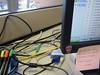 (thisgirlangie) Tags: carpet office cables linoleum officespace cat5 yousendit