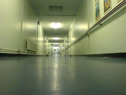 NHS Hospital Corridor