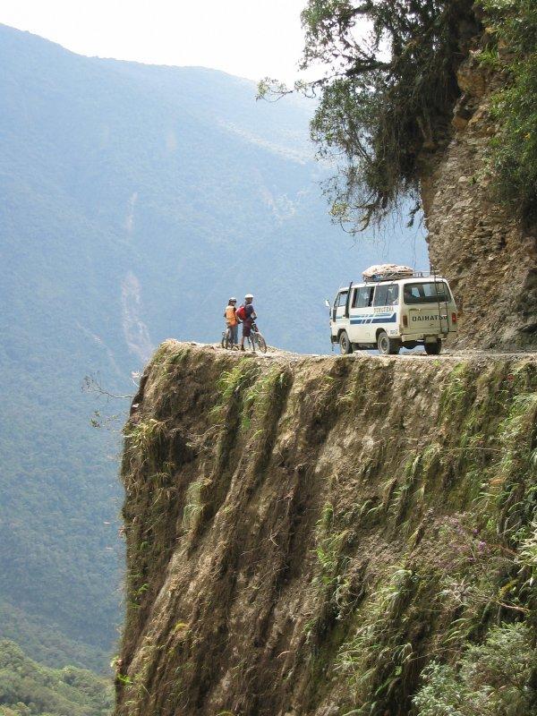 Ciclismo de montaña Death Road Bolivia