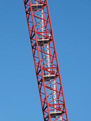Climb (amy allcock) Tags: blue red ontario canada abstract october 2006 kingston