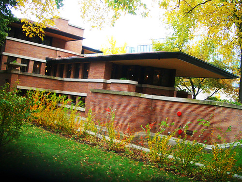 Frank Lloyd Wright Robie House 1910
