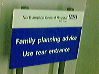 Governement family planning advice
