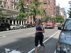 Jogging in the Fifth Avenue