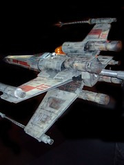 X-Wing Fighter from original Star Wars film 3 (mharrsch) Tags: oregon movie portland starwars aircraft sciencefiction spacecraft omsi georgelucas xwingfighter