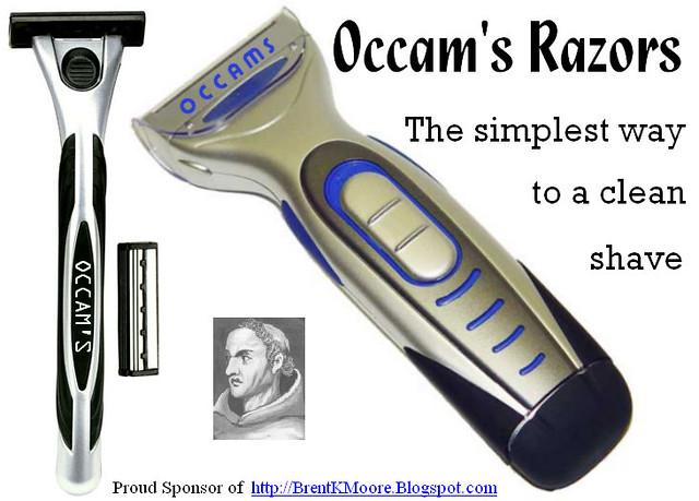 Occam's Razors Ad