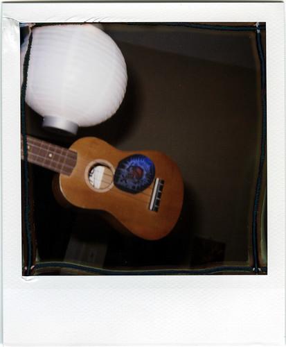 uke and lantern
