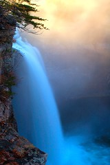 Sunrise at DeSoto Falls. (BamaWester) Tags: longexposure nature water sunrise ilovenature waterfall interestingness bravo rocks 500v20f accepted1of100 been1of100 alabama desotostatepark waterblur 1000v100f desotofalls 100faves bamawester napg mywinners anawesomeshot sunriseatdesoto 104feet 900v9f