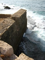 "sea wall in akká • <a style=""font-size:0.8em;"" href=""http://www.flickr.com/photos/70272381@N00/305439639/"" target=""_blank"">View on Flickr</a>"