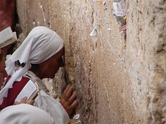 it's me again (Shira M Hiltch) Tags: old woman wall hope notes jerusalem pray again jew wish oldcity westernwall kotel tuch