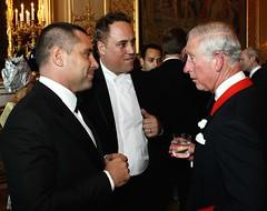 Riccardo Silva and Prince Charles (StylishMen) Tags: prince charles royal family english palace buckingham riccardo riccardosilva silva silvainternational mpsilva london windsor castle miami milan uk vip glamour event gala