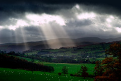 Breaking Through (tommy martin) Tags: uk england grass clouds moody lakedistrict cumbria godlight abigfave