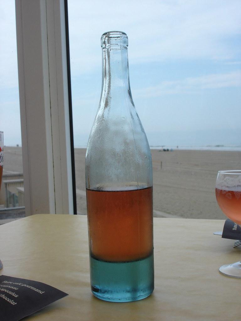 Deceitful wine bottle