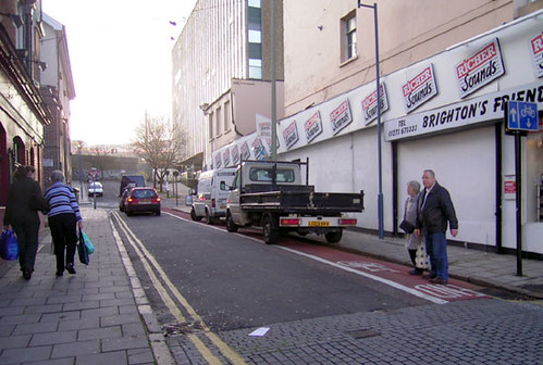 Cycle lane parking