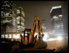 (Jane Kratochvil (Amazin' Jane)) Tags: newyorkcity bulldozer lowermanhattan weststreet