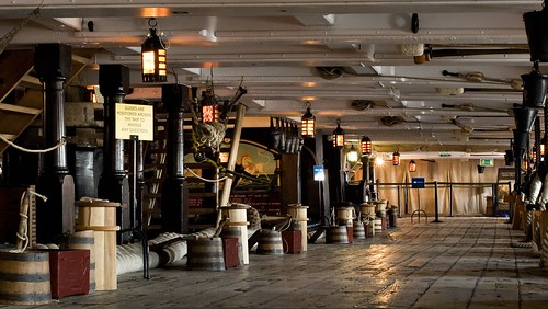 The Lower Gun Deck, HMS Victory