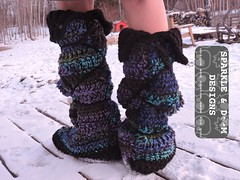 LuckyWandererBoots04a (zreekee) Tags: crochet sparkledoomdesigns luckywandererboots drops slippers mukluks