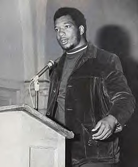 Fred Hampton of the Illinois Black Panther Party. He was martyred on December 4, 1969