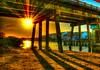 Sun Below (worldwidewandering) Tags: bridge usa sun beach topf25 rocks tampabay florida deleteme10 indian 2006 indianrocksbeach explore hdr interestingness9 photomatix hamlinslanding abigfave razik worldwidewandering