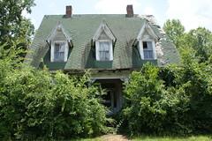 J. C. Little House, Circa 1870 (kecheeks803) Tags: home victorian louisville georgia abandoned building deterioration jclittlehouse