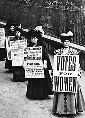 BHDG9R (jessethorne) Tags: geography travel great britain womens movement suffragettes announcement demonstration essex hall london 24 1 1908 votes for women charlotte despard irene miller teresa billingtongreig ms murby holmes suffrage voting right