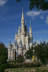 Cinderella's Castle, Disney's Magic Kingdom, Orlando, USA