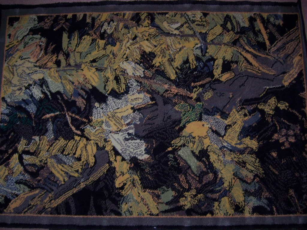 Van Gogh Blossoming Acacia Branches -- 1890 (limited edition area rug)
