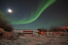 Northern lights over the pending ice road (Wickedlady) Tags: trees winter snow canada topf25 night top20favorites ilovenature lights top20np cool topv555 bravo long exposure top20winter northwest albaluminis topv999 arctic aurora astronomy top20landscape northern top20night territories borealis yellowknife 1on1 top20horizonpix cotcmostfavorited thecontinuum bluelist 123sky 123ac newphotographer abigfave abigfav p1f1 impressedbeauty aplusphoto top20aurora