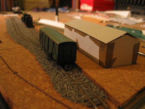 Checking scale against rolling stock