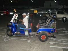 Crazy Tuk Tuk Driver in Chiang Mai