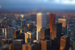 Toronto Tilt-Shift (Justin Shearer) Tags: city toronto skyline model shift tilt minature tiltshift