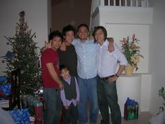 Orlando Christmas 2006 - A few of the brothers and Ethan of course (chanchan222) Tags: christmas family orlando chan bui danchan danielchan chanchan222 wwwchanofamericacom chanwaibun