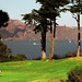 San Francisco - Golden Gate Bridge from the Lincoln Park Golf Course