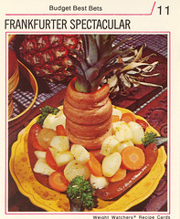 Frankfurter Spectacular (Vermont Ferret) Tags: 1974 potatoes hotdogs carrots parsley weightwatchers frankfurters boilingwater whitesoulfood pineappleabuse