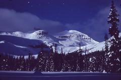 Midnight in Yoho Valley (xtremepeaks) Tags: park camping winter moon snow canada ski mountains beautiful night stars cabin saveme skiing bc deleteme10 rocky national moonlight rockymountains yoho yohonationalpark interestingness22 i500 top20longexposure explore27september06