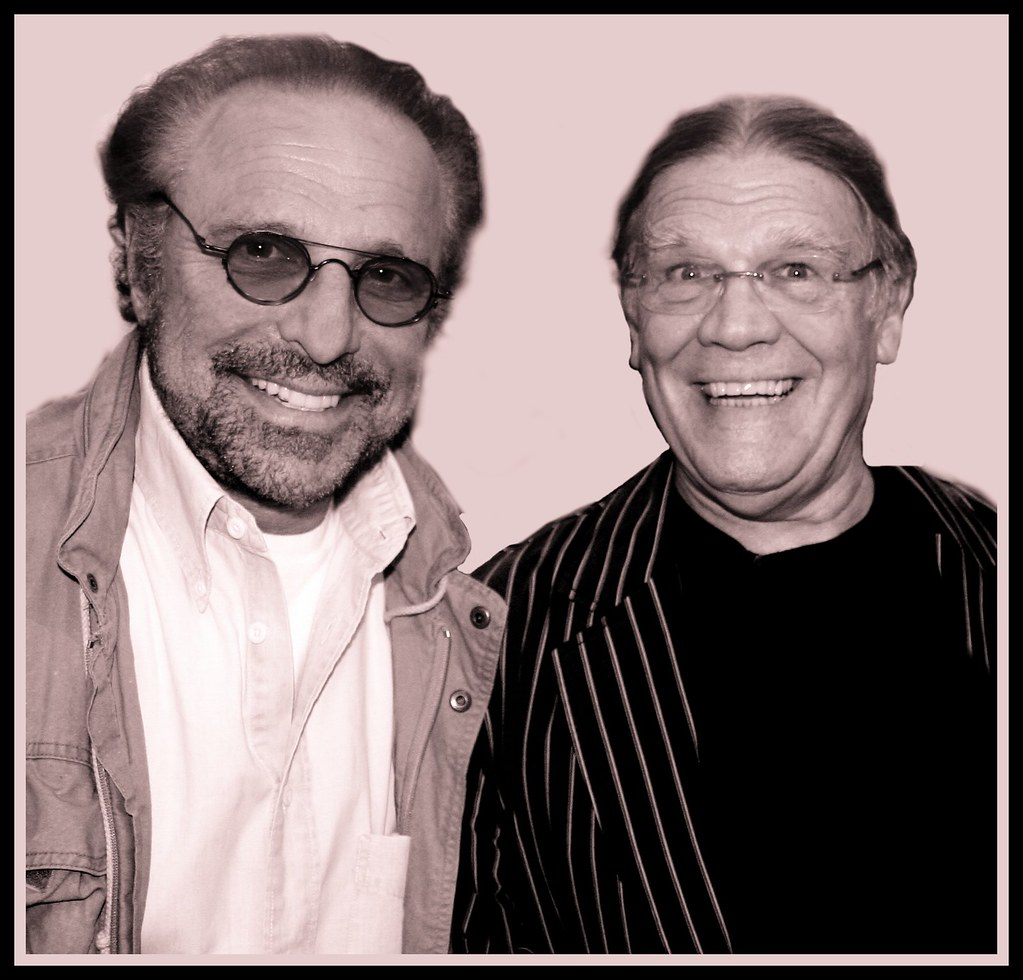 Barry Mann & Henry Diltz at the Morrison Gallery