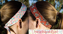 Headbands! (HelenPalsson) Tags: sewing craft headband hairband