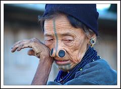 Apatani Lady 02 (Arif Siddiqui) Tags: india portraits women tribal indians tribe northeast tatto arif arunachal siddiqui arunachalpradesh northeastindia ziro mywinners apatani arunachalpradeshindia diamondclassphotographer flickrdiamond arunachali