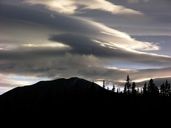 Sweeping clouds (nordicshutter) Tags: yukon whitehorse octobersunset