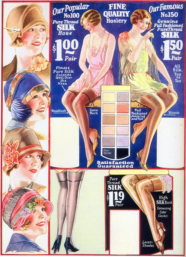 7911243199b The Flapper Girl  Chicago Mail Order Co. ad