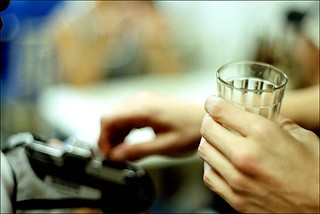 A pentax e o copo americano