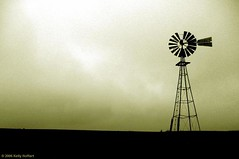 Windmill Silhouette
