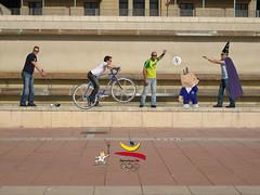 @ Barcelona's olimpics stadium - After (dani_bunny) Tags: barcelona erez luka ori nirka