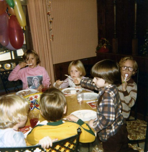 4th Birthday Party, 1978