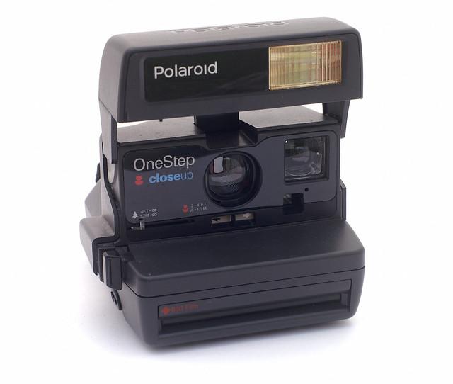 Máquina de fotos Polaroid